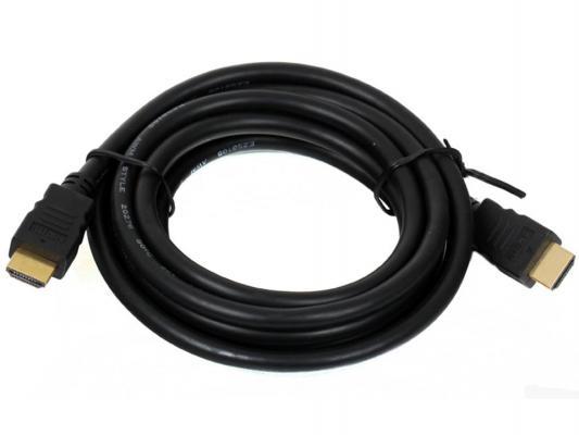 Кабель HDMI 1.0м VCOM Telecom v1.4 W/Ethernet/3D CG501D-1M с позолоченными контактами кабель telecom cg540d 3m hdmi 3 0м v1 4 w ethernet 3d плоский
