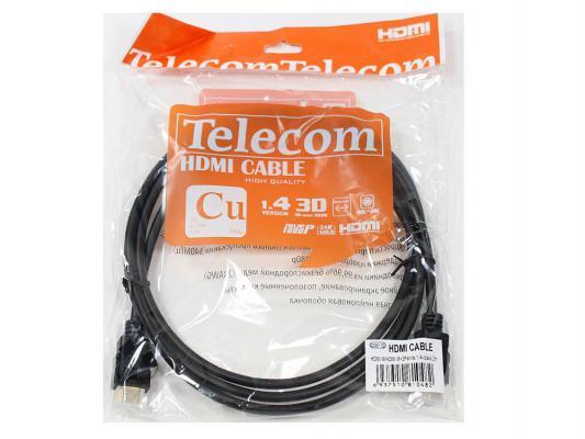 Картинка для Кабель HDMI 2.0м VCOM Telecom позолоченные контакты черный CG501D-2M