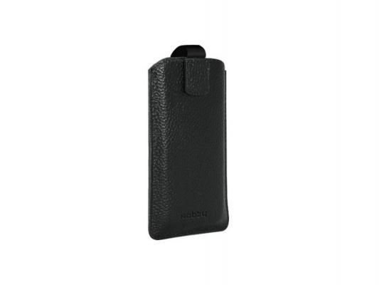 Чехол универсальный Nobby Comfort WM-001 для телефонов M кожа черный