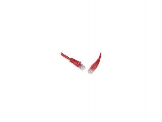 Патч-корд UTP 5е категории Telecom 1м литой красный NA102 6242755316676
