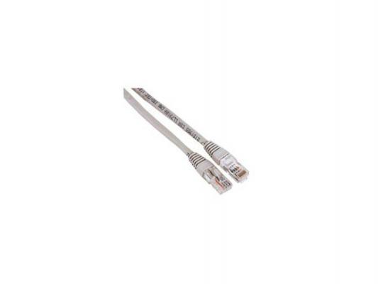 Патч-корд 5E категории Hama H-30622 UTP серый 10.0м