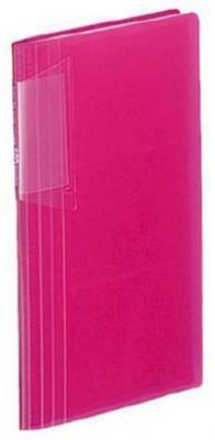 Визитница Kokuyo Novita 180 шт розовый MEI-N218P
