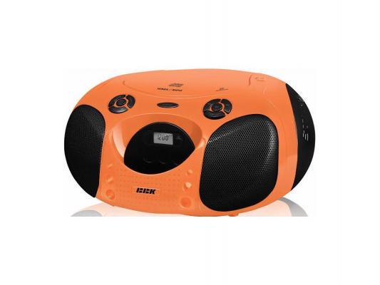 Магнитола BBK BX110U оранжево-черный