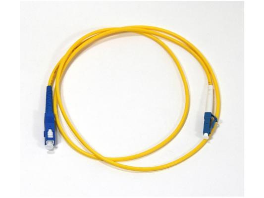 Патч-корд Vcom LC-SC UPS волоконно-оптический шнур одномодовый Simplex 1м VSU302-1M оптический шнур vcom fc sc upc одномодовый simplex vsu102 1m