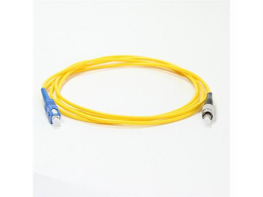 Патч-корд Vcom FC-SC UPS волоконно-оптический шнур одномодовый Simplex 2м VSU102-2M