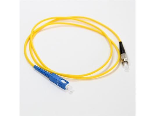 Патч-корд Vcom FC-SC UPS волоконно-оптический шнур одномодовый Simplex 1м VSU102-1M