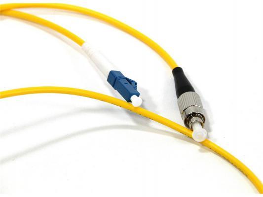 Патч-корд Vcom LC-FC UPS волоконно-оптический шнур одномодовый Simplex 1м VSU301-1M
