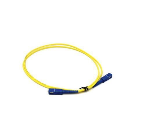 Патч-корд Vcom SC-SC UPS волоконно-оптический шнур одномодовый Simplex 1м VSU202-1M