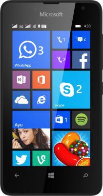 "Смартфон Microsoft Lumia 430 Dual Sim черный 4"" 8 Гб GPS Wi-Fi"