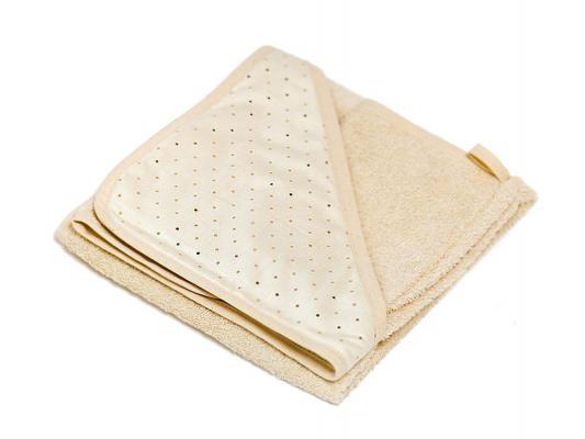 Купить Махровое полотенце POLVERE DI STELLE бежевое 050.4100-056, Italbaby, Махровое волокно, Для всех, Детские полотенца и халаты