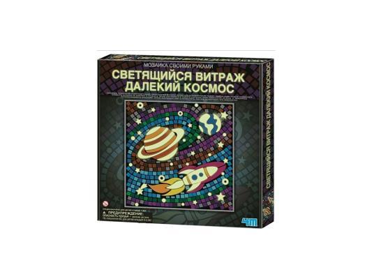 Игровой набор 4M Светящийся витраж Далекий космос от 7 лет 00-04649 4m светящийся витраж подводное царство 4м