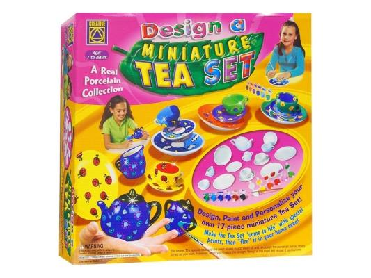 Набор для творчества Creative Украшаем чайный сервиз от 7 лет 5350 заготовки под роспись creative набор украшаем чайный сервиз