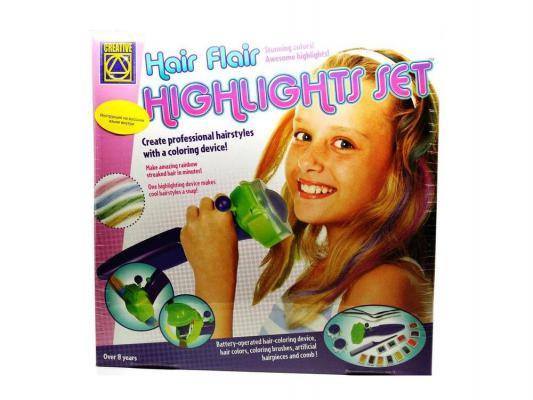 Набор парикмахера Creative Радуга в твоих волосах от 7 лет 19 предметов 5476