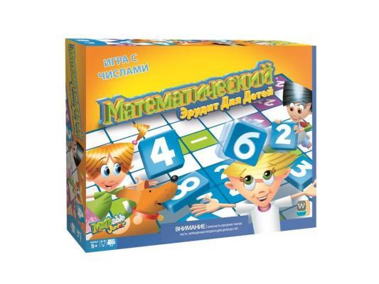 Настольная игра WOOKY Intertainment развивающие Математический Эрудит для детей 5006