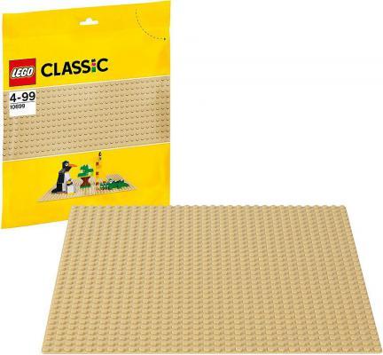 Конструктор Lego Строительная пластина желтого цвета 1 элемент 10699