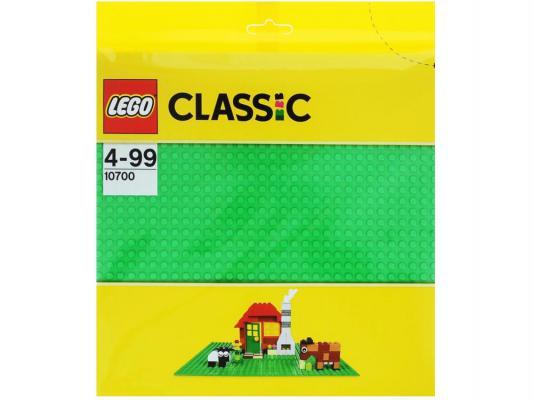 Конструктор Lego Classic Строительная пластина зеленого цвета 1 элемент 10700 конструктор lego duplo строительная пластина 38х38 2304