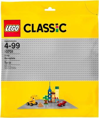 Конструктор LEGO Строительная пластина серого цвета 10701 2304 конструктор lego duplo строительная пластина 38х38 1 элемент 2304