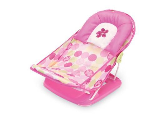 18515 Лежак с подголовником для купания Summer Infant Deluxe Baby Bather розовый