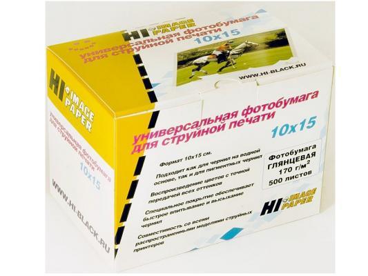 Бумага Hi-Black H170-4R-500 10x15 170г/м2 глянцевая 500л