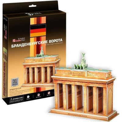 3D-пазл CubicFun Бранденбургские ворота (Германия) 31 деталь С712h