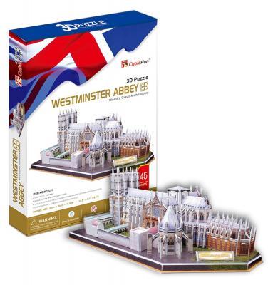 Пазл 3D CubicFun Вестминстерское аббатство (Великобритания) 145 элементов MC121H