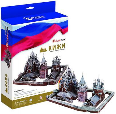 Пазл 3D CubicFun Кижи (Россия) 261 элемент MC163h
