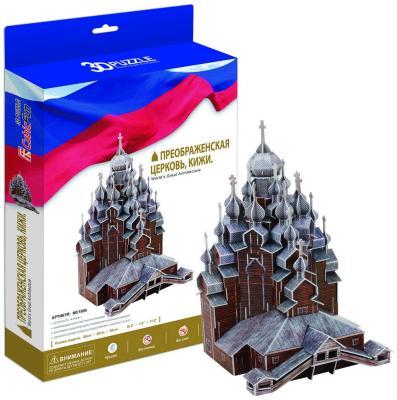 Пазл 3D CubicFun 3D-пазл Кижи Преображенская церковь (Россия) 126 элементов MC169h  - купить со скидкой
