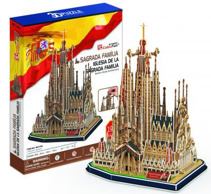 Пазл 3D CubicFun Храм Святого Семейства (Испания) 194 элемента
