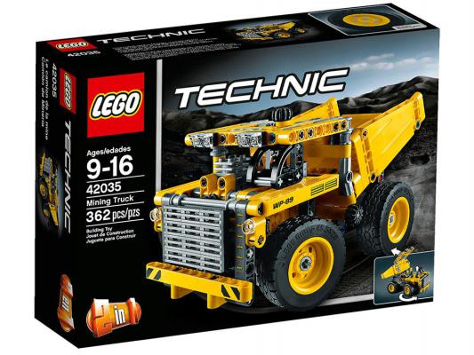 Конструктор Lego Technic Карьерный грузовик 362 элемента 42035