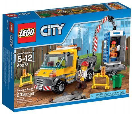 Конструктор Lego City Машина техобслуживания 233 элемента 60073