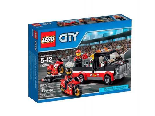 Конструктор Lego City Перевозчик гоночных мотоциклов 178 элементов 60084