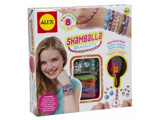 Набор для создания браслетов Alex Шамбала от 6 лет 734S наборы для создания украшений alex большой набор для плетения браслетов друзья