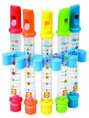 Интерактивная игрушка Alex для ванны Водяные флейты от 3 лет разноцветный 4005 от 123.ru