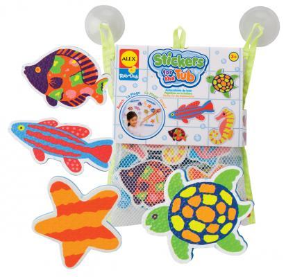 Интерактивная игрушка Alex Пляж стикеры для ванны от 3 лет разноцветный 633W от 123.ru