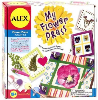 Набор для творчества ALEX Пресс для гербария + оформление подарков/открыток от 5 лет alex alex набор для творчества объемные аппликации из бумажных шариков малышам