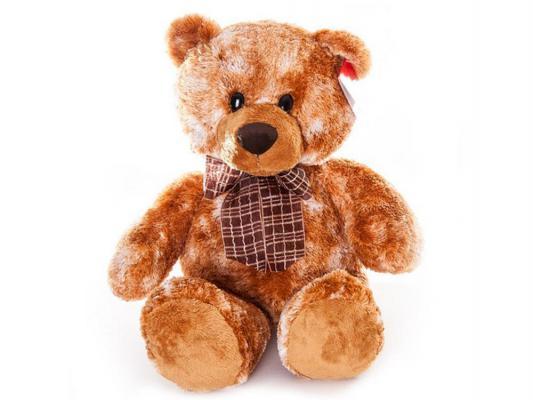 Мягкая игрушка медведь Aurora Медведь сидячий плюш коричневый 53 см