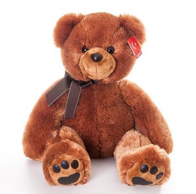 Фото Мягкая игрушка медведь AURORA Медведь плюш коричневый 70 см