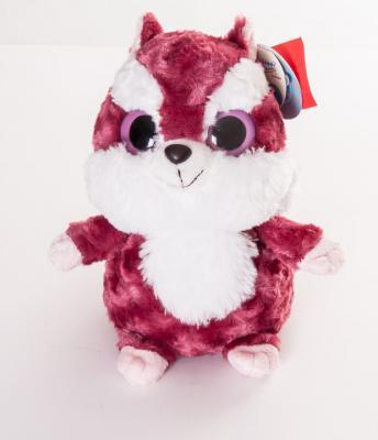 Мягкая игрушка герой мультфильма AURORA Юху и друзья Игрушка мягкая Красная Белка плюш синтепон красный белый 25 см