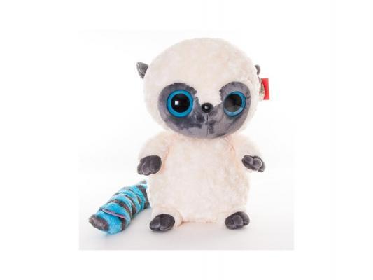 Мягкая игрушка герой мультфильма Aurora Юху и друзья Игрушка мягкая Юху плюш синтепон белый серый 42 см