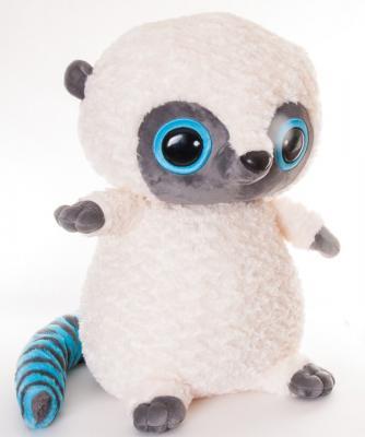 Мягкая игрушка обезьянка AURORA Юху плюш белый голубой 74 см