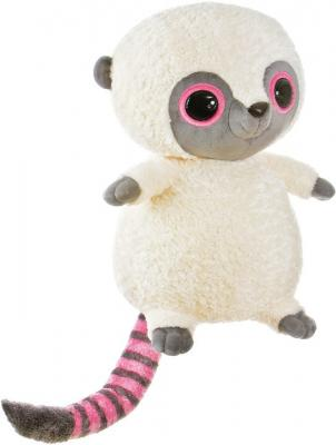 Мягкая игрушка герой мультфильма Aurora Юху и друзья Игрушка мягкая Юху розовый плюш синтепон белый серый розовый 74 см