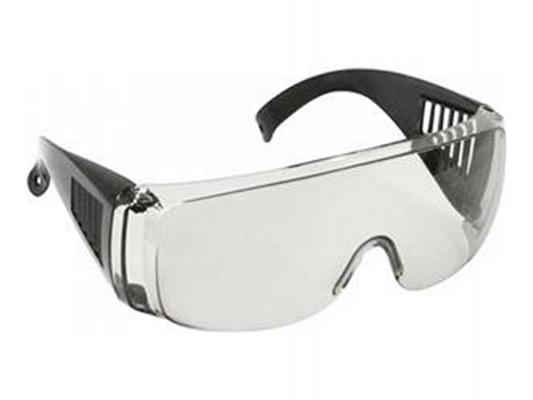 Защитные очки Fit 12218 с дужками дымчатые аксессуар очки защитные fit 12207