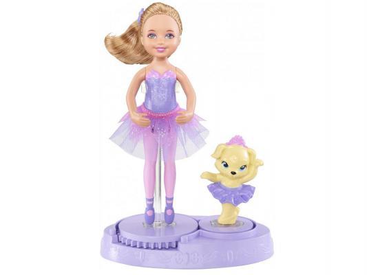 Кукла Barbie Балерина с собачкой 15 см х8818 от 123.ru