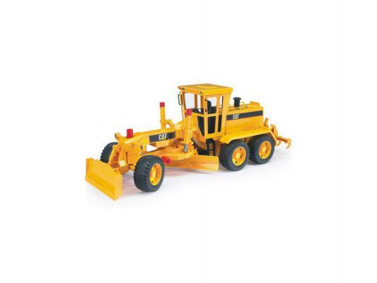 Грейдер Bruder CAT желтый 1 шт 60 см 02436
