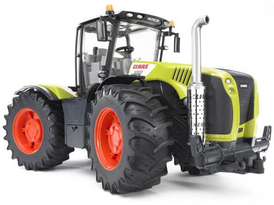 Трактор Bruder Claas Xerion 5000 с поворачивающейся кабиной зеленый 1 шт 42 см