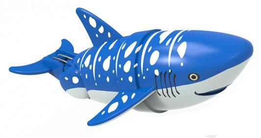 Интерактивная игрушка Lil' Fishys Акула-акробат Вэйлон от 4 лет синий 126212-2 интерактивная игрушка redwood акула акробат тайгер с аквариумом от 3 лет фиолетовый 159025