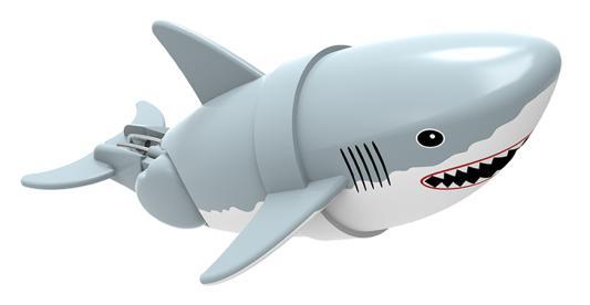 Интерактивная игрушка Lil' Fishys Акула-акробат Джабон от 4 лет серый 126212-4 игрушка интерактивная 31 век акула 3310b в ассортименте