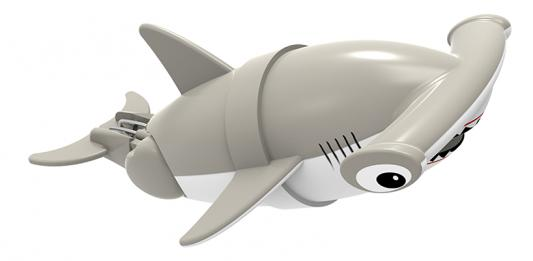 Интерактивная игрушка Lil' Fishys Акула-акробат Хэмми от 4 лет серый 126212-3 игрушка интерактивная 31 век акула 3310b в ассортименте
