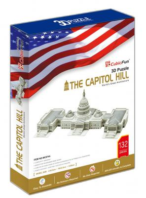Пазл 3D CubicFun Капитолий (США) —