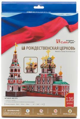 Купить Пазл 3D CubicFun Рождественская церковь (Россия) MC191h
